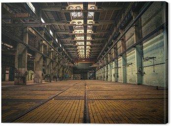 Obraz na Płótnie Opuszczony industrial interior