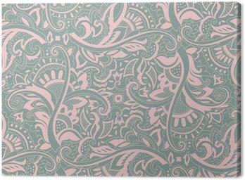 Obraz na Płótnie Paisley powtarzalny wzór