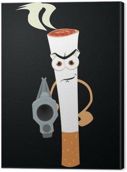 Obraz na Płótnie Palenie zabija