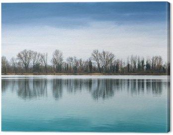 Obraz na Płótnie Panorama Lacustre