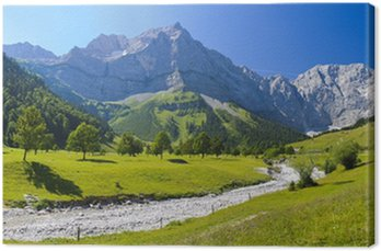 Obraz na Płótnie Panorama Landschaft w Bayernie