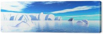 Obraz na Płótnie Panorama - lodowa w oczach 01