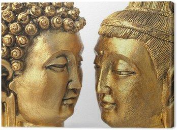 Obraz na Płótnie Para Buddów