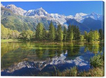 Obraz na Płótnie Park miejski w Chamonix