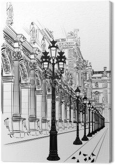 Obraz na Płótnie Paryż: klasycznej architektury