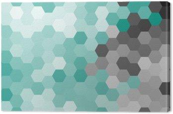 Pastelowy niebieski geometryczny wzór sześciokąt bez konturu.
