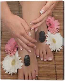 Obraz na Płótnie Pedicure i Manicure