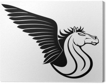 Obraz na Płótnie Pegasus znak