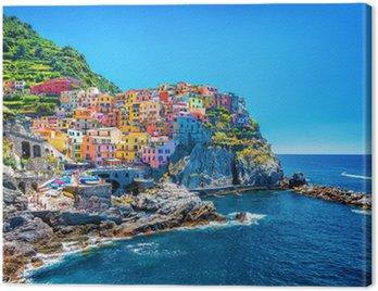 Obraz na Płótnie Piękny kolorowy pejzaż