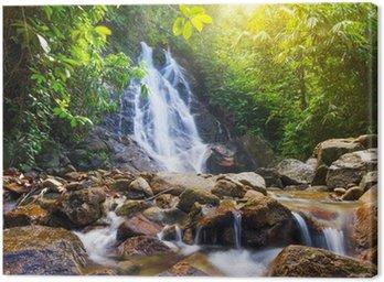Obraz na Płótnie Piękny wodospad szczebel Sai w Tajlandii