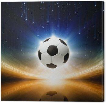 Obraz na Płótnie Piłka, jasne światło