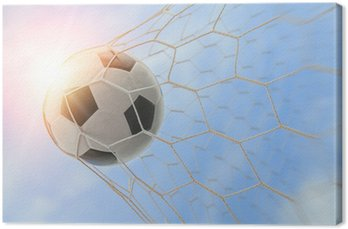 Obraz na Płótnie Piłka w bramce