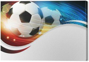 Obraz na Płótnie Piłka z oświetleniem i iskier