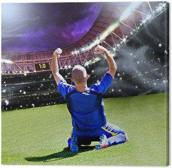 Obraz na Płótnie Piłkarz