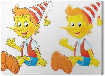 Obraz na Płótnie Pinokio / Buratino