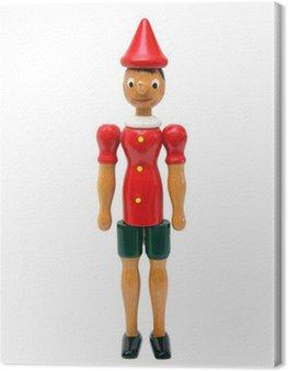 Obraz na Płótnie Pinokio, drewniane zabawki