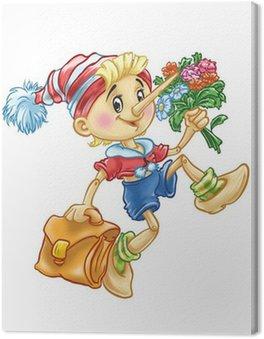 Pinokio idzie do szkoły