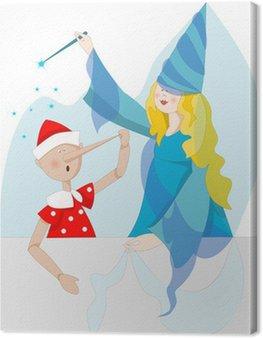 Obraz na Płótnie Pinokio