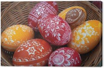 Obraz na Płótnie Pisanki na Wielkanoc