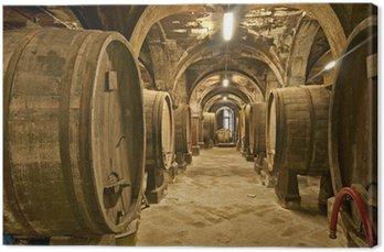 Obraz na Płótnie Piwnica na wino
