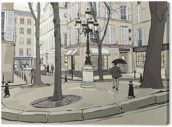 Obraz na Płótnie Plac furstemberg w Paryżu