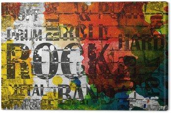 Plakat grunge rock