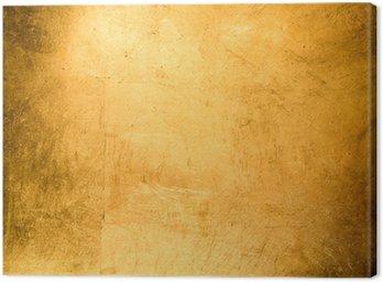 Obraz na Płótnie Płaskie tło, złocone złotem