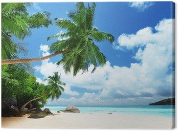 Obraz na Płótnie Plaża na wyspie Mahe na Seszelach