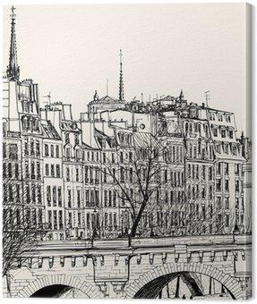 Obraz na Płótnie Pont Neuf w Paryżu