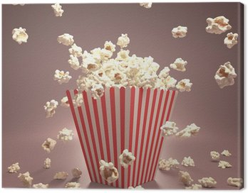 Obraz na Płótnie Popcorn Latanie