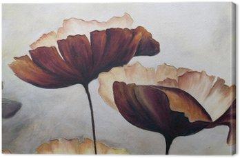 Poppy malarstwo abstrakcyjne