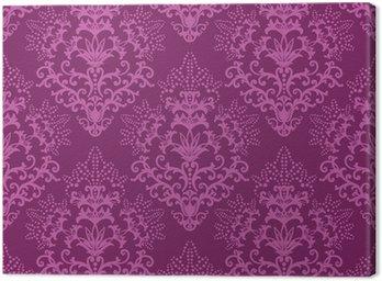 Obraz na Płótnie Powtarzalne fuksja tapeta kwiatu purpurowe