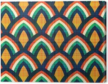 Obraz na Płótnie Powtarzalny abstrakcyjny wzór geometryczny