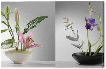 Obraz na Płótnie Próbki ikebana dwa japońskie
