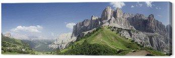 Obraz na Płótnie Przegląd Dolomitach