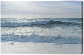 Obraz na Płótnie Przełamując fale oceanu