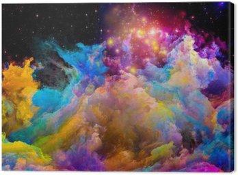 Obraz na Płótnie Przyspieszenie Painted Świata