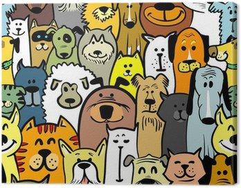 Obraz na Płótnie Psy i koty