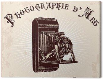 Publicité ancienne d'un photographe