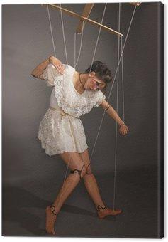 Obraz na Płótnie Puppenspiel Marionette