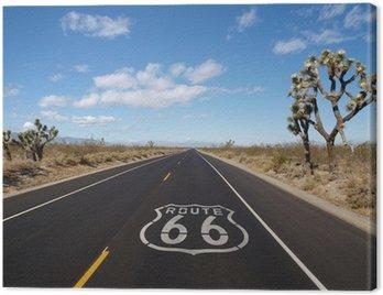 Obraz na Płótnie Pustynia Mojave Trasa 66