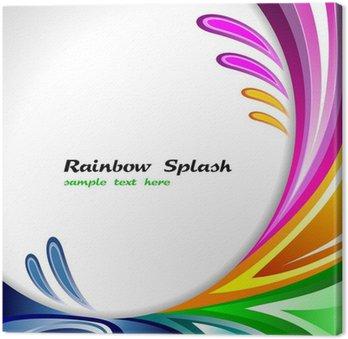 Obraz na Płótnie Rainbow Slash