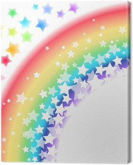 Rainbow Star Tło