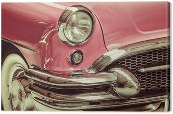 Obraz na Płótnie Retro stylem obraz z przodu klasyczny samochód