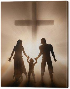 Obraz na Płótnie Rodzina, religia