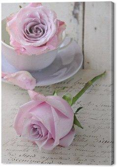 Obraz na Płótnie Rose na piśmie