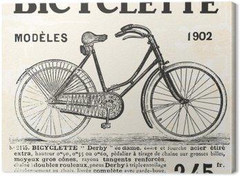 Obraz na Płótnie Rower dla dziewczyny