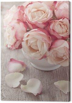 Obraz na Płótnie Różowe róże