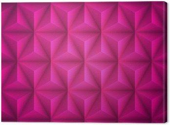 Obraz na Płótnie Różowy Geometryczne abstrakcyjne low-poly tło papieru. Wektor