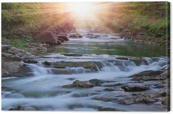 Obraz na Płótnie Rzeka Montain